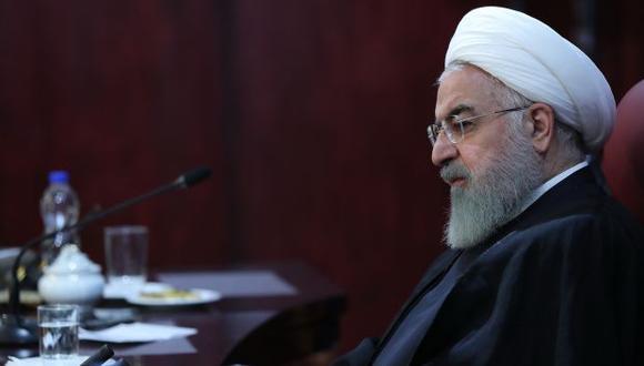 """Rohaní también afirmó que las sanciones impuestas por Estados Unidos contra el sector energético iraní este mes """"han fracasado"""". (Foto: AFP)"""