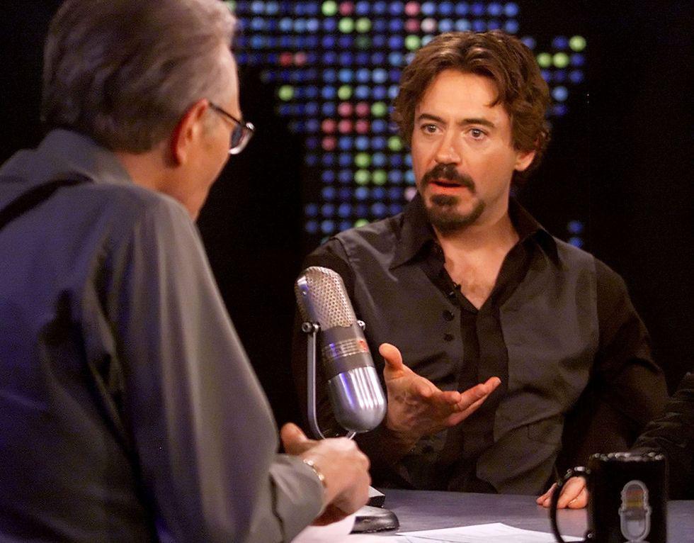 """Robert Downey Jr. habla de su película """"Kiss Kiss Bang Bang"""" en entrevista con Larry King. La entrevista data del 17 de octubre de 2005.  (Foto: Reuters / Rose M. Prouser)"""
