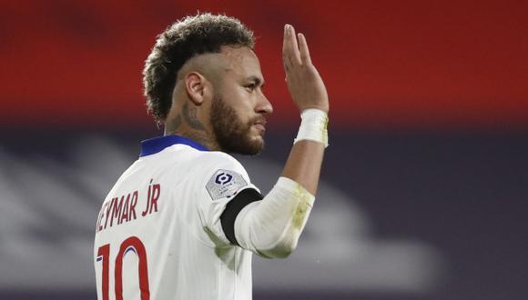 Neymar se perderá la final de la Copa de Francia. (Foto: Reuters)