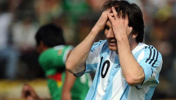 Lionel Messi regresará a La Paz para enfrentar a Bolivia rumbo a Qatar 2002. (Fuente: Telám)