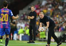 """Ronald Koeman sobre el Barcelona: """"Intentamos competir, pero es lo que hay"""""""