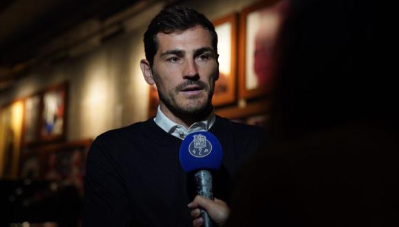 Iker Casillas formará parte del staff directivo del Porto mientras se recupera de sus problemas de salud. (Foto: AFP)