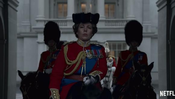 """""""The Crown"""" ha logrado triunfar en los Globos de Oro y en la gala de los Critics Choice Awards. (Foto: Captura de YouTube)."""