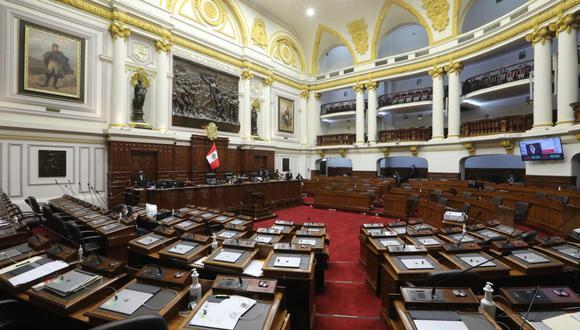 El legislador consideró que el Pleno temático puede llevarse a cabo un sábado. (Foto: Congreso)