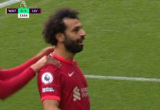 Dejó a tres en el camino: Salah se lució con brillante golazo en el Liverpool-Watford | VIDEO