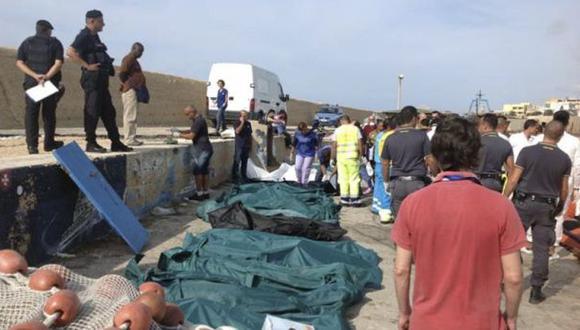 Al menos 29 inmigrantes murieron de frío en su camino a Italia