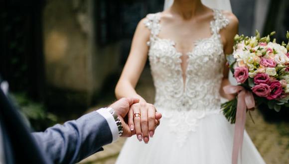 La pareja selló su amor en marzo pasado. (Foto: Freepik)