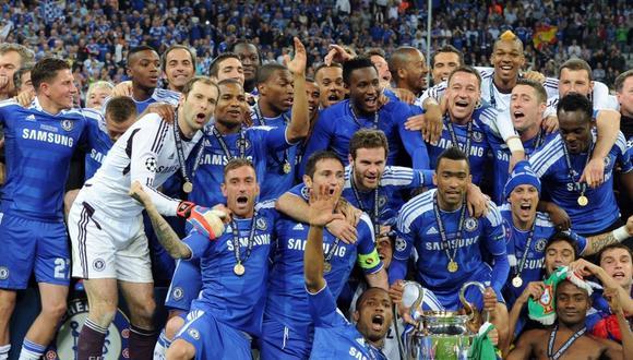 Chelsea alzó la 'Orejona' en la temporada 2011-2012 con Drogba como protagonista.