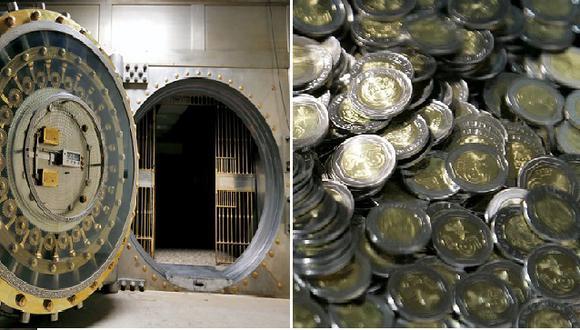 Bóveda del Banco Central de Reserva