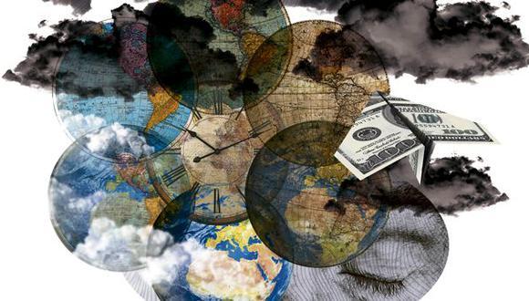 """""""La agenda está tristemente subfinanciada, una estimación muestra que se necesitan 2,5 mil millones de dólares más al año"""". (Ilustración: Giovanni Tazza)"""
