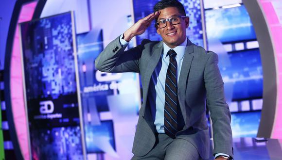Erick Osores se refirió a los partidos que transmitirá América TV luego que el canal adquirió los derechos de la Eurocopa y la Copa América. (FOTO: GEC)