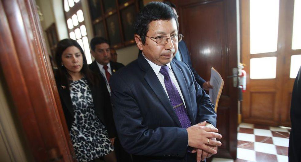 Trujillo, recordemos, renunció días después de publicada una entrevista que brindó a El Comercio, pródiga en lugares comunes y excusas sin sentido, en la que reveló su poca aptitud para el cargo. (Foto: Dante Piaggio / El Comercio)