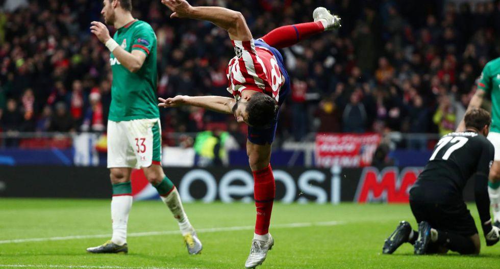 Atlético Madrid venció 2-0 al Lokomotiv de Moscú por la Champions League. (Foto: Reuters)