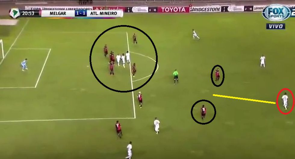 Los errores de Melgar en los goles de Atlético Mineiro - 5
