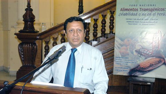 Roger Nájar es cercano al presidente electo Pedro Castillo. En las elecciones lo nombró para liderar su Plan Bicentenario.
