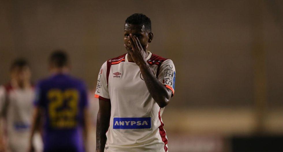Alberto Quintero vio la tarjeta roja en la visita de Universitario de Deportes a Binacional. (Foto: GEC)