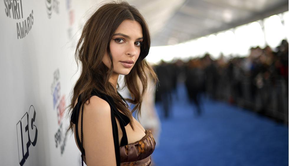 La modelo Emily Ratajkowski pasó a la fila de las casadas, luego de iniciar un romance con Sebastian Bear-McClard. (Foto: AFP)