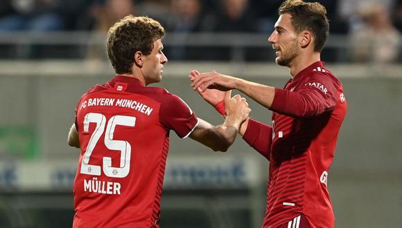 Bayern Múnich venció al Greuter Fürth como visitante y continúa como sólido líder en el fútbol alemán. | Foto: AFP