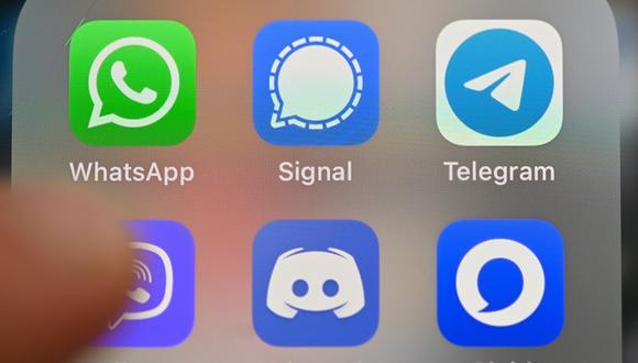 WhatsApp en el ojo de la tormenta por cambio de políticas de privacidad, que ha motivado que varios usuarios se vayan a Telegram o Signal. (Foto: AFP)