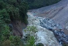 Vraem: desborde del río Piene destruye carretera en Ayacucho