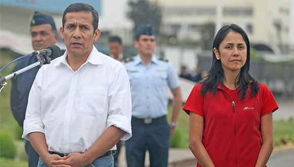 Ollanta Humala y Nadine Heredia fueron hallados responsables de diversos delitos por la comisión Lava Jato. (Foto: Andina)