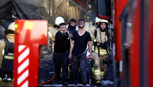 Turquía: incendio en hospital de Estambul obliga a evacuar a los pacientes. (Reuters).