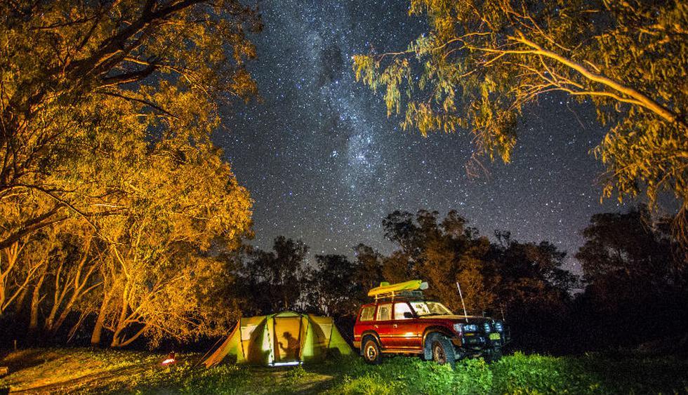 Acampa en Darling River, en el  Parque Nacional Kinchega. (Foto: Getty Images)