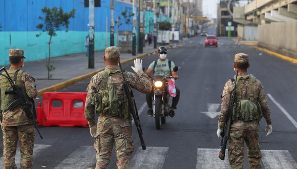 El presidente Martín Vizcarra anunció que el estado de emergencia nacional se extenderá por dos semanas más, hasta el 26 de abril. (Foto: GEC)