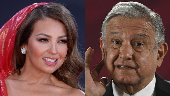 Thalía se mostró muy crítica sobre AMLO y sus recomendaciones por el coronavirus (AFP)
