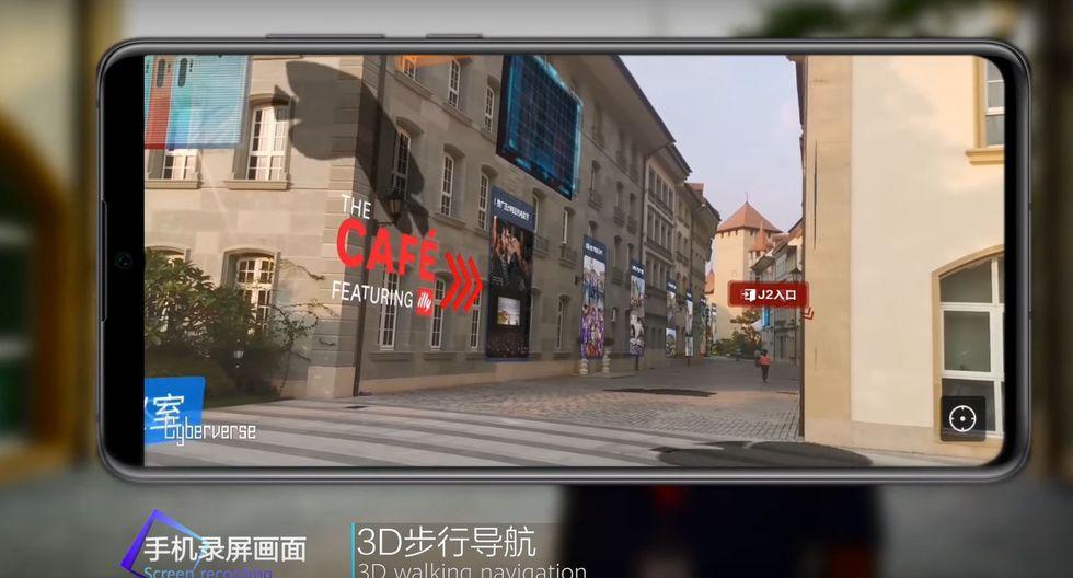 Cyberverse de Huawei. (Captura de pantalla)