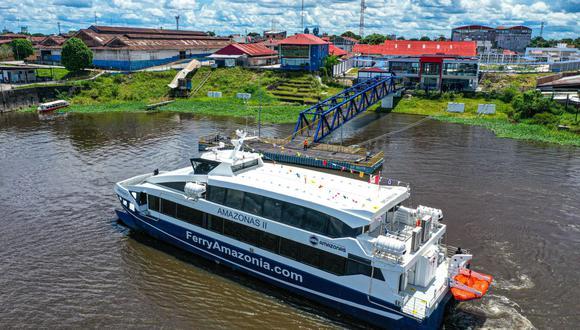 Inauguran el nuevo terminal de pasajeros de Iquitos. (Foto: MTC)