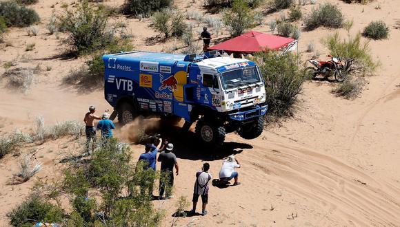 Eduard Nikolaev es el vencedor del Dakar 2018 en camiones. (Foto: Agencias)