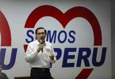 Somos Perú presenta apelación a exclusión de candidatura de Martín Vizcarra