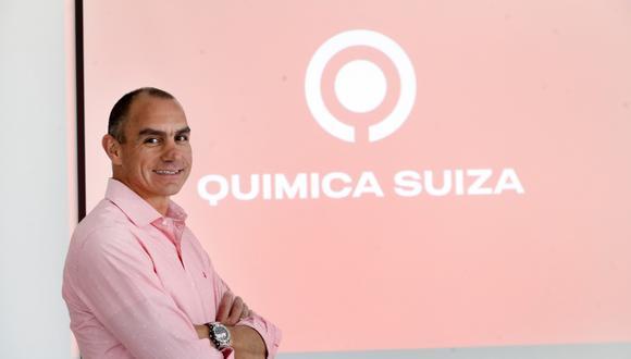 """""""Mi misión es corporativizar esta compañía hacia Intercorp y que seamos una sola Química Suiza"""", afirma Jose Luis Cámere, gerente general de la firma de InRetail Pharma.  (Foto: Rolly Reyna / El Comercio)"""