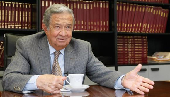 El ex ministro Juan Incháustegui falleció a los 80 años. (Foto: GEC)