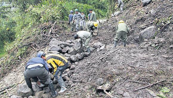Carretera a Machu Picchu sigue con paso restringido