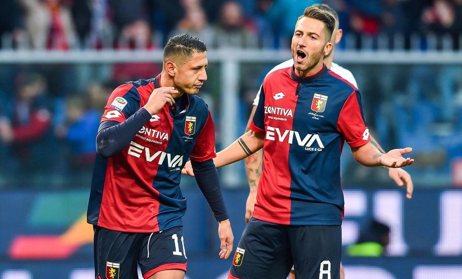 Gianluca Lapadula volvió a jugar en la Serie A y marcó ante la Roma. (Foto: EFE)