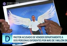 Pastor es acusado de estafar a dos personas con venta de departamento