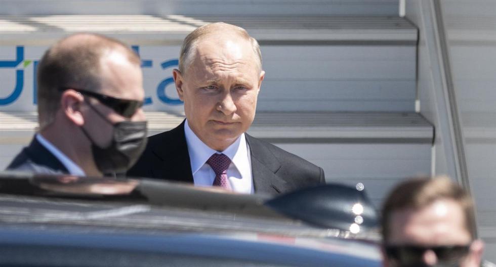 Putin arrives in Geneva for historic summit with Biden