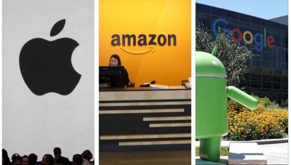 Estas tres gigantes tecnológicas y Microsoft ahora son el club del billón de dólares.