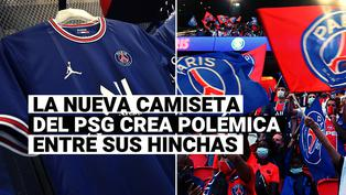 PSG: la detrás de la nueva camiseta del club parisino que ha levantado polémica entre sus hinchas