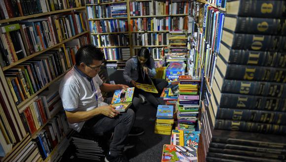 La Feria del Libro de Bogotá aún se debate en el modelo presencial o virtual.(Foto: Raul Arboleda / AFP)