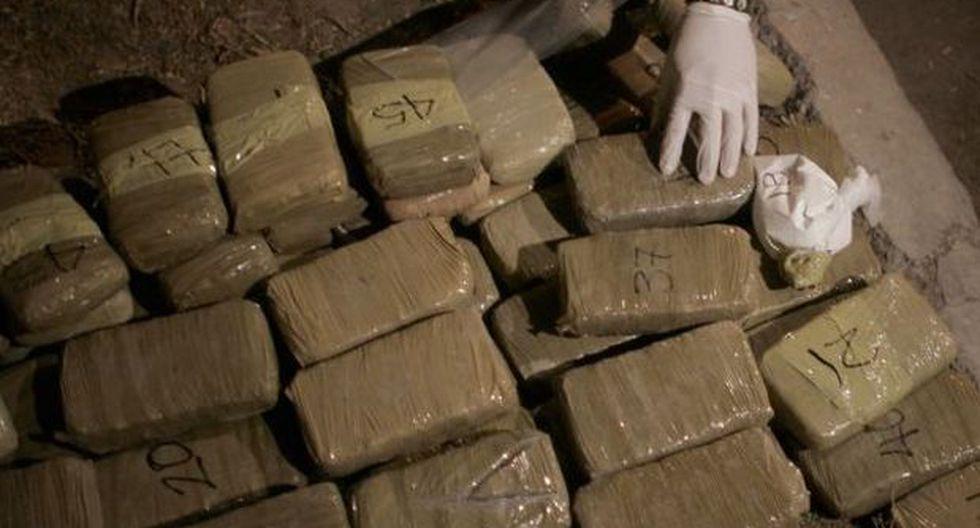 Incautan más de 157 kilos de cocaína escondidos en camión