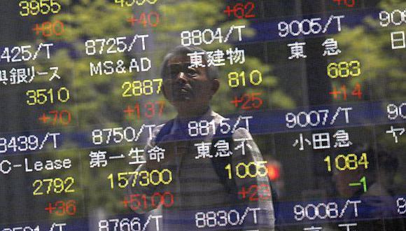 Bolsa de Tokio fue la excepción en caída del mercado asiático