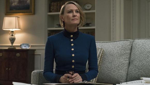 """Claire Underwood (Robin Wright) recibe más responsabilidades que nunca en la quinta temporada de """"House of Cards"""". (Foto: Netflix)"""