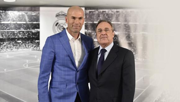 Zinedine Zidane explicó las razones para renunciar al cargo de entrenador de Real Madrid. (Foto: AFP)