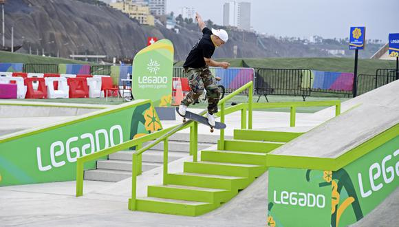Angelo Caro competirá en Tokio 2020 en la disciplina de skateboarding, deporte debutante en los Juegos Olímpicos. (Foto: Legado 2019)
