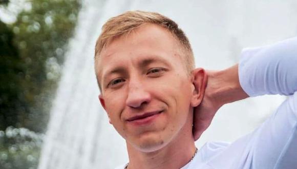 """Vitali Shishov, de 26 años y al frente de la organización """"Casa Bielorrusa"""" en Ucrania, una ONG de ayuda a los bielorrusos huidos del país, había salido a correr el lunes por la mañana en Kiev pero no regresó, (Foto: AP)."""