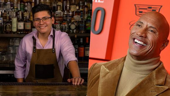 Carlos Ruiz capturó la atención de Dwayne Johnson en Instagram.