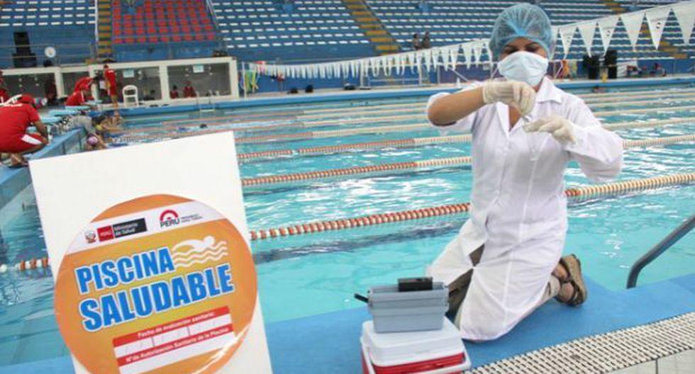 Conoce qué piscinas tienen la aprobación sanitaria de Digesa